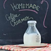 Homemade Coffee Creamer {3 ingredients}