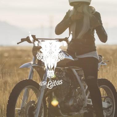 The Litas, Montreal, fille, femme, moto