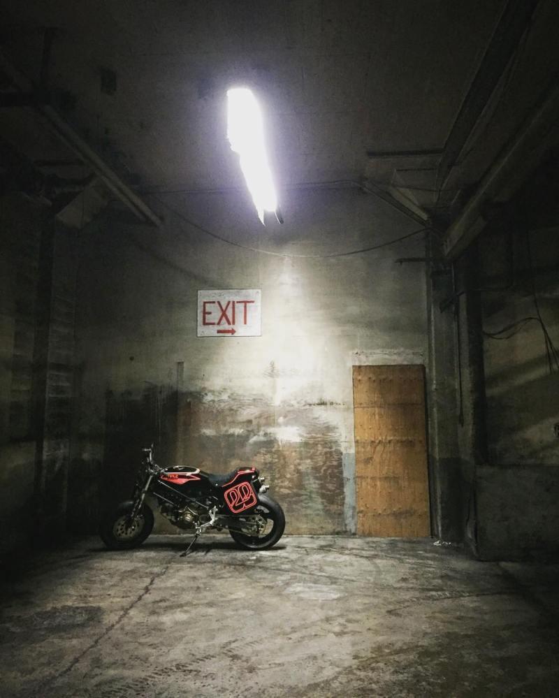 Tirée du Instagram de Moto Lady