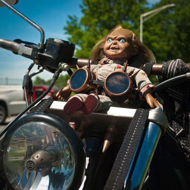 Luc Binette oneland laconia moto