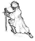 kneelingswordsman