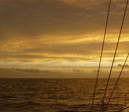 Sunset Bass Strait
