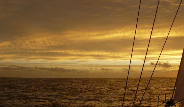 Sunset Bass Strait