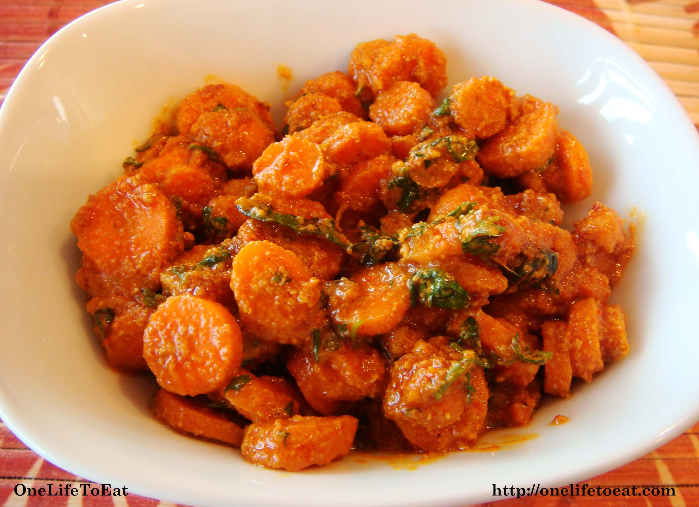 Simple Carrot Pickle One Life To Eat