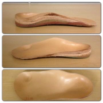 My custom orthotics, aka: my 70 yr old man feet support.