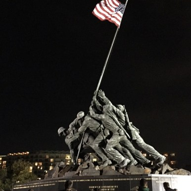 On Sunday, we run with the marines and experience dc as only runners will.