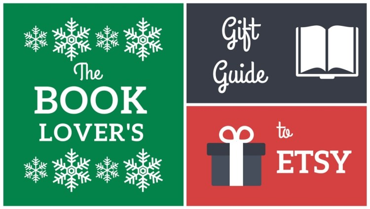 Book Lover's Gift Guide to Etsy