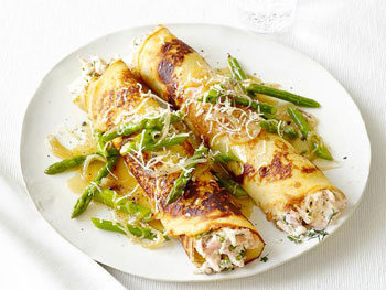 Chicken-and-Asparagus-Crepes