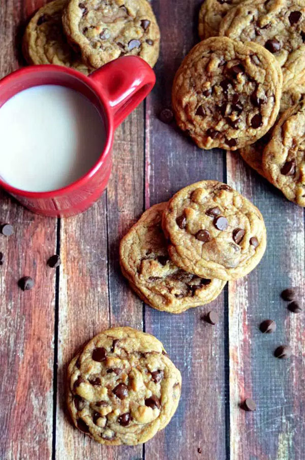 50+ Best Cookie Recipes - Best Soft Chocolate Chip Cookies