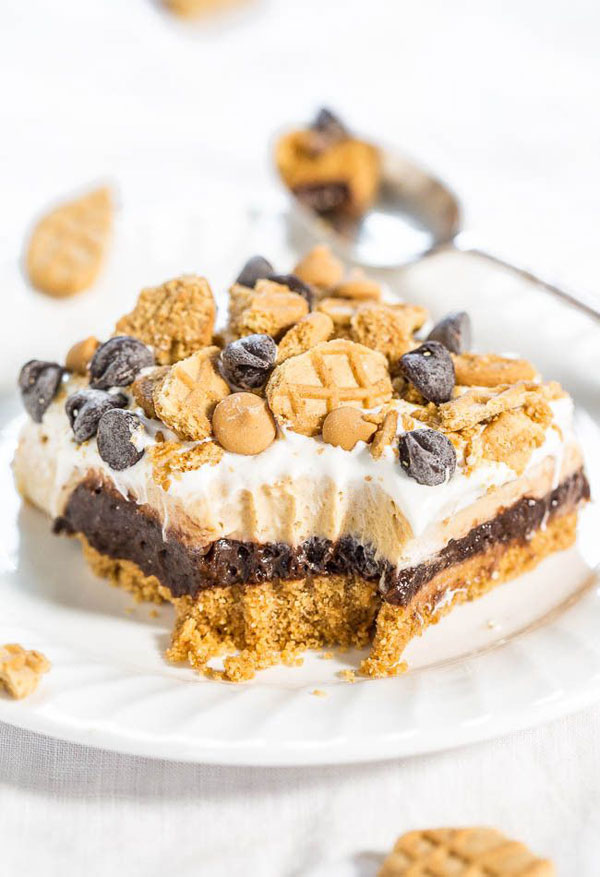 50+ Best Squares and Bars Recipes - Chocolate Peanut Butter Dream Bars