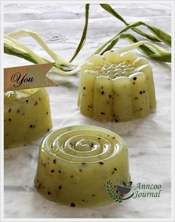 50+ Best Kiwi Recipes - Kiwifruit Kanten Jelly