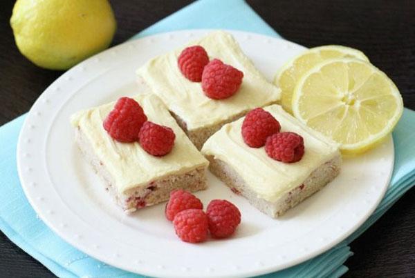 50+ Best Squares and Bars Recipes - Lemon Raspberry Sugar Cookie Bars