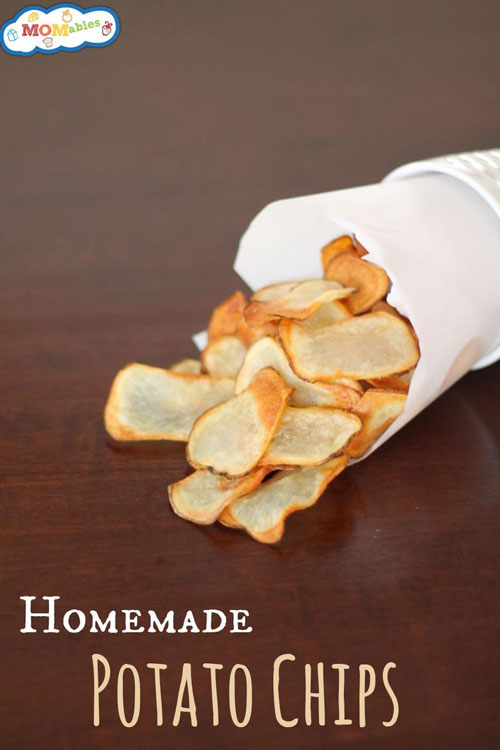 30+ Foods You Can Make Yourself - Homemade Oven Baked Potato Chips