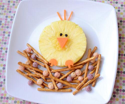 50+ Kids Food Art Lunches - Birdie Breakfast