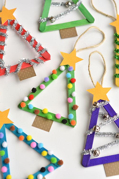 christmas ornaments popsicle sticks # 33