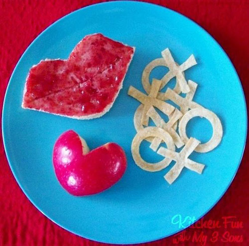 30+ Healthy Valentine's Day Food Ideas - Valentine's Day Hugs & Kisses