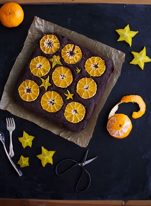 50+ Best Recipes for Fresh Clementines - Clementine Fudge Cake