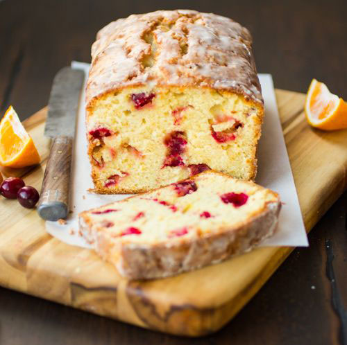 50+ Best Recipes for Fresh Clementines - Cranberry Clementine Tea Cake