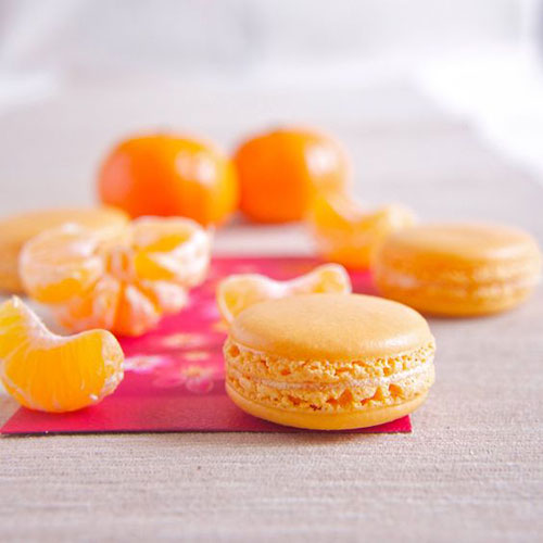 50+ Best Recipes for Fresh Clementines - Homemade Clementine Macarons
