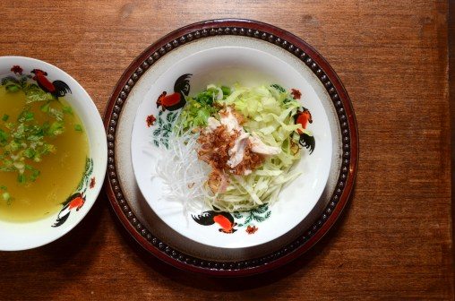 Soto Ayam Creamy Tinola Version of Indonesian Soup with Glass Noodles