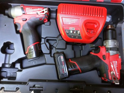 Drill/Driver and Impact wrench combo kit.