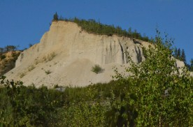Close up of that cliff