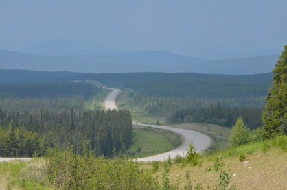 I really liked the way the road snaked across the landscape