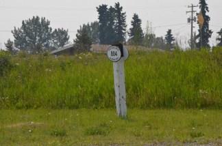 Historic Milepost...