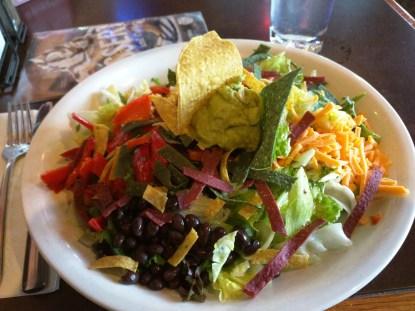 A nice southwest salad.