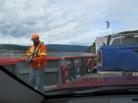 I asked this deck hand if he could take some photos and he was happy to do so.