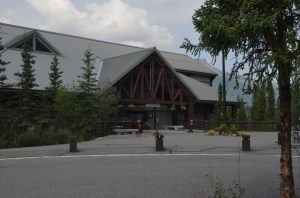 Wilderness Access Center (WAC) on the parking lot side.