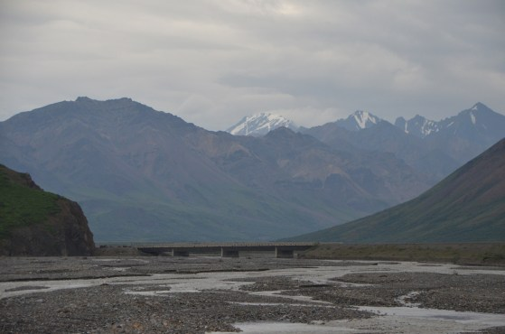 Toklat river bridge