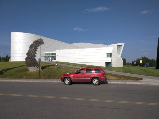 University of Alaska Fairbanks - Museum of the north