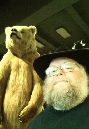 Me and Otto the bear