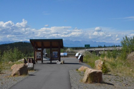 Tanana River rest area