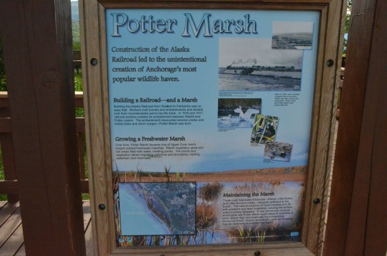 You are welcomed from the parking lot to the trails by a few nice interpretive signs.