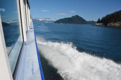 Starboard looking forward