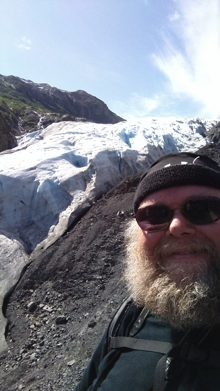 Selfie, my turn at the viewpoint