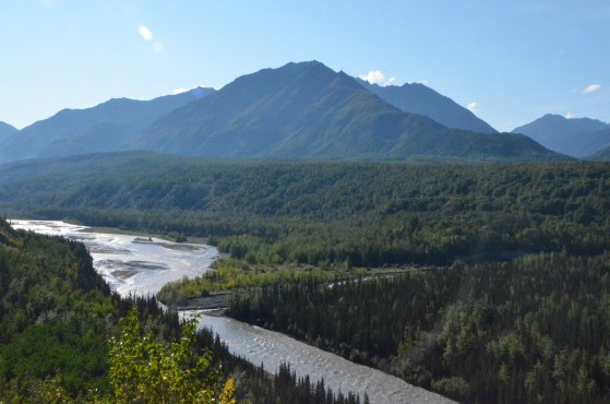 Matanuska River looking upstream