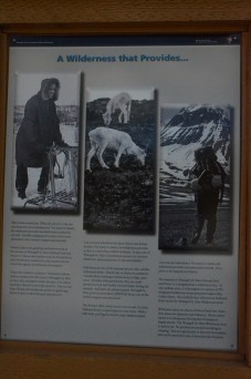 A lot of the park and preserve is still used for subsistence lifestyle.