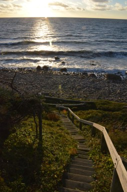 Stairs to the beach.