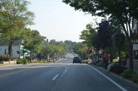 Main street in Frankenmuth