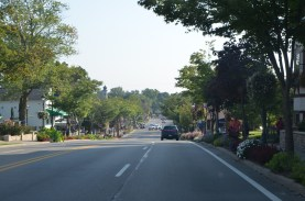 Main street in Frankenmuth