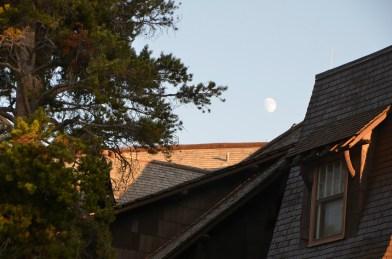 Moon over Inn