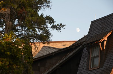 Moon over Inn