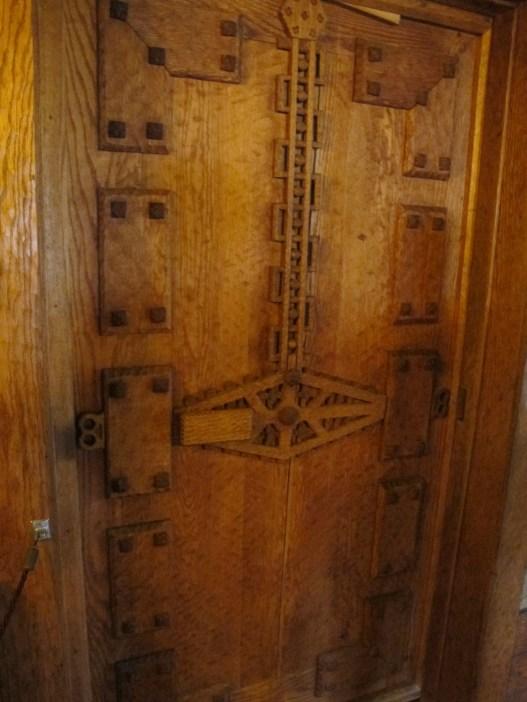 One of the 47 elaborate doors