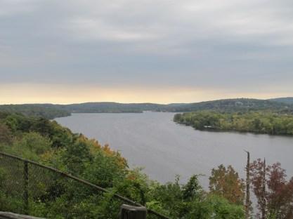 Connecticut river below.