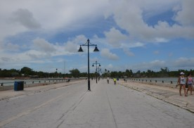 Public Pier, was once set up for cars.