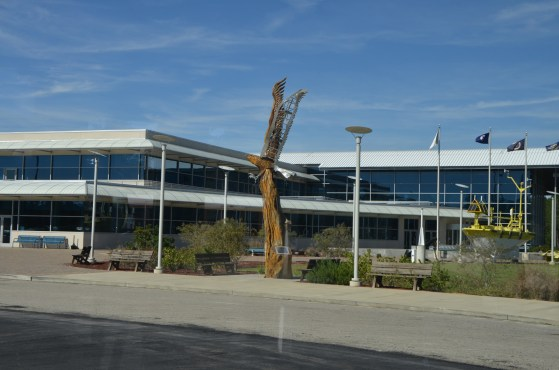Front of the INFINITY Science Center