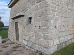 Blockhouse, dating to 1794.